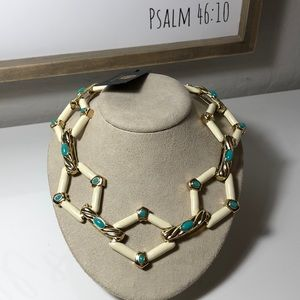 House of Harlow 1960 statement necklace
